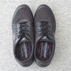 Skechers Microburst Showdown Sneakers, Size 7